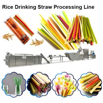 Machine for Producing Biodegradable Eco-Friendly Straw Edible Rice Straw Flour Straw for Drinking