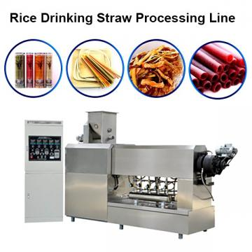 Natural Rice Straw Machine Degradable Straw Maker