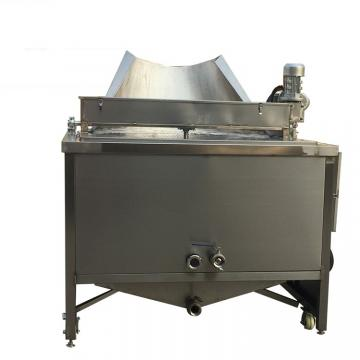 Industrial Gas Continuous Belt Conveyor Deep Fryer for Tofu