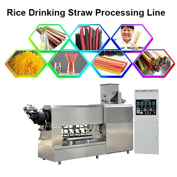 Automatic Plastic Drinking Straw Extruder Extruding Making Machine