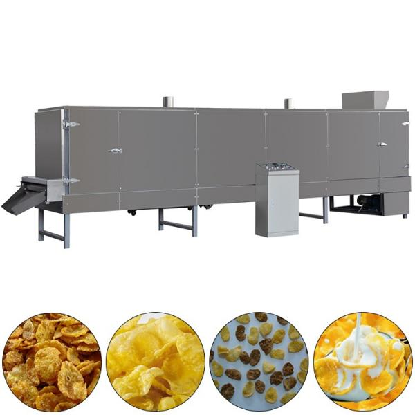 Puffed Corn Soybean Extruder Machine for Poultry Feeding