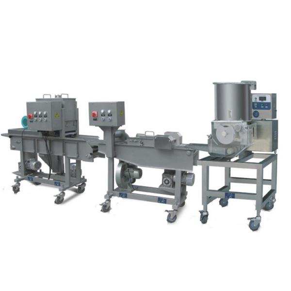 Chicken Nuggets Patty Production Flouring Coating Making Machine
