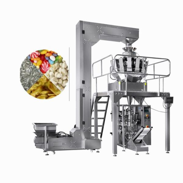Popped Food Packaging Machine Automatic Verticalgrain Weighing Filling Sealing Packing Machine