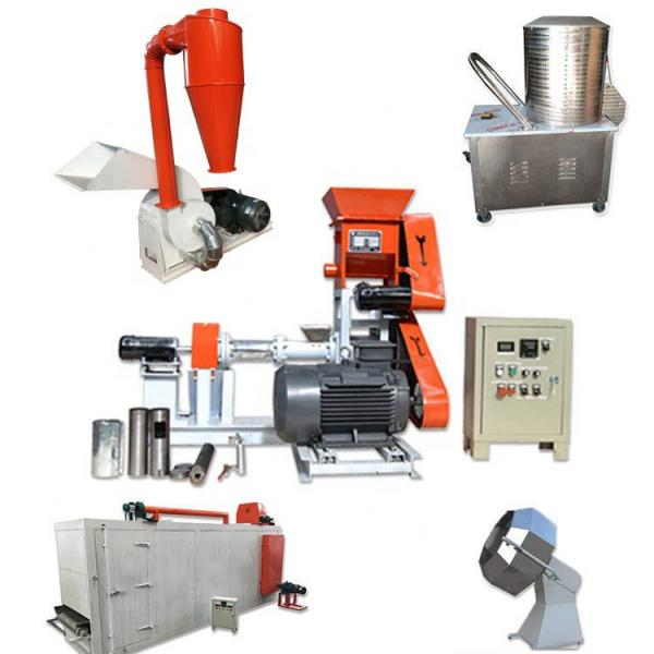 High Quality Floating Fish Feed Production Feed Crusher and Mixer Machine